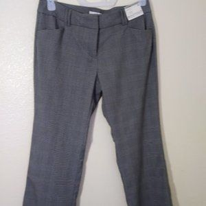 NWT New York & Company Mid Rise Trouser Size 8P